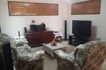 UPSTAIRS LOUNGE ROOM WITH 50 INCH PLASMA TV