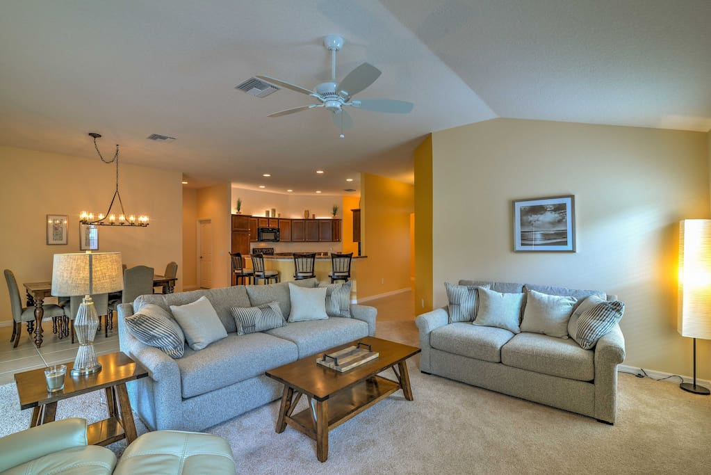 This beautiful property is professionally decorated throughout.