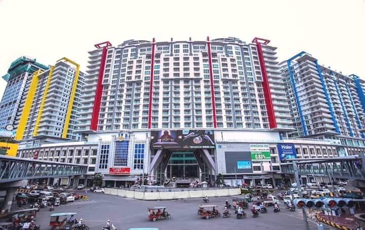 La Route Unique Condo. Heart of Phnom Penh City