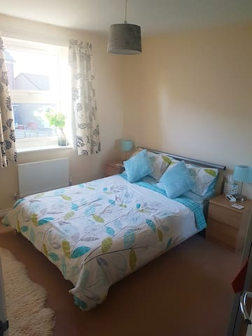 Double room near Nationwide with breakfast