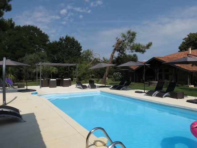 Chambre Tilleul - Marmande, Casteljaloux et canal.