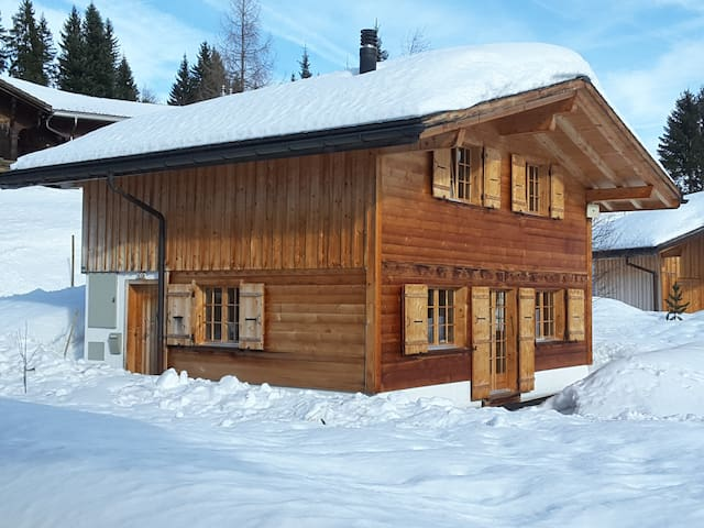 Contemporary Swiss chalet for all seasons