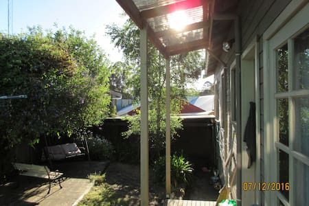 Leura Mist Cottage is a cosy 3 bedroom cottage - Timboon - Huis