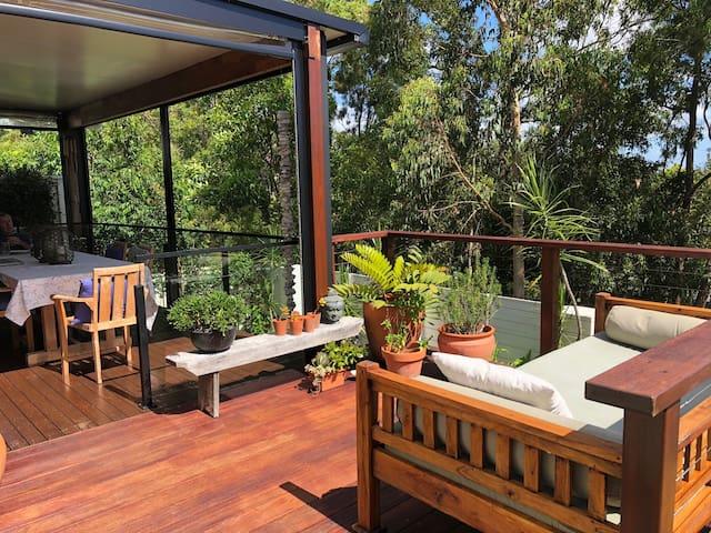 Tea Toast and Treetop Views