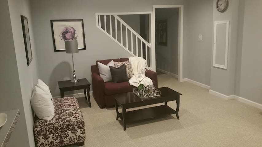 Luxurious Basement Apt Largo/Bowie MD