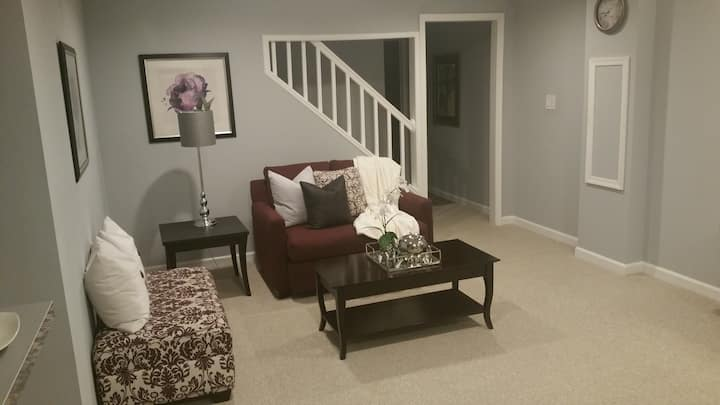 Luxurious Basement Studio Apt Largo/Bowie MD