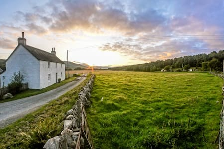A Tranquil Rural Scottish Farmhouse - Pitlochry