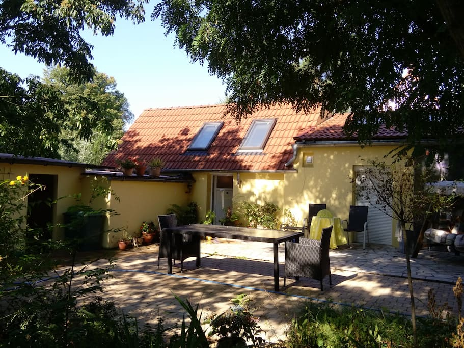 Kleines paradies zwischen potsdam und berlin bungalows for Bungalow brandenburg