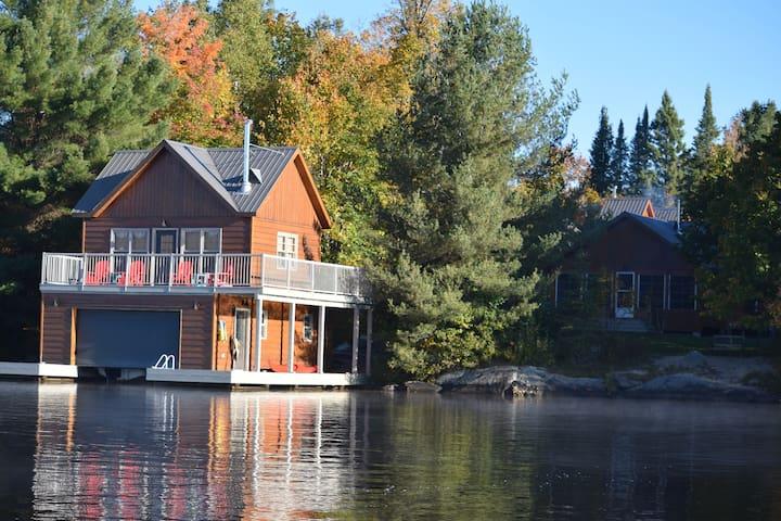 FERNGLEN *Muskoka North* 3 cottages on 1 property