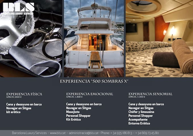 Experience 50 shades in a yacht - Sitges - Kapal