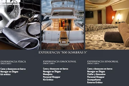Experience 50 shades in a yacht - Sitges