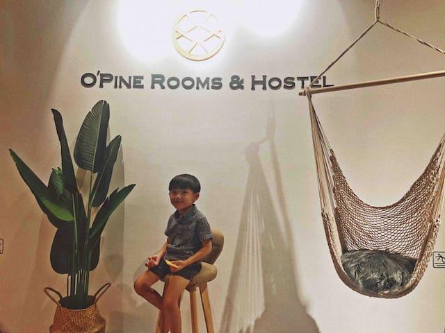 OPine 菠萝の海B  /Private room & toilet独立房间及厕所/市中心