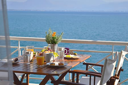 Waterfront Holiday Apartment,  Kiveri, Nafplion - Kiveri