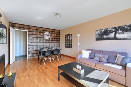 Appartement en centre ville 2 chambres