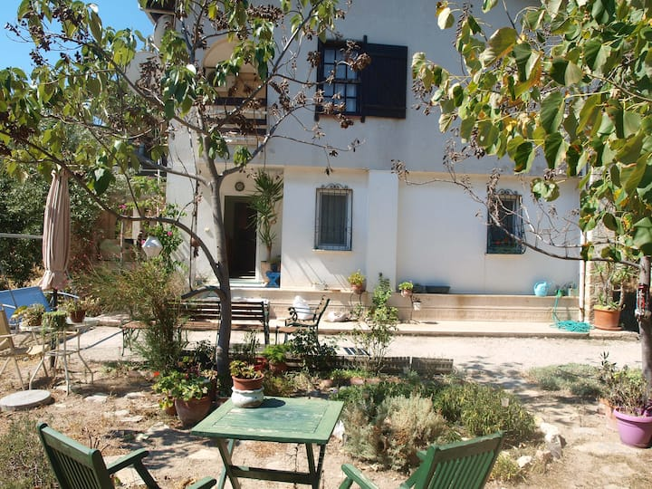 House with garden close to the seaside in Foça