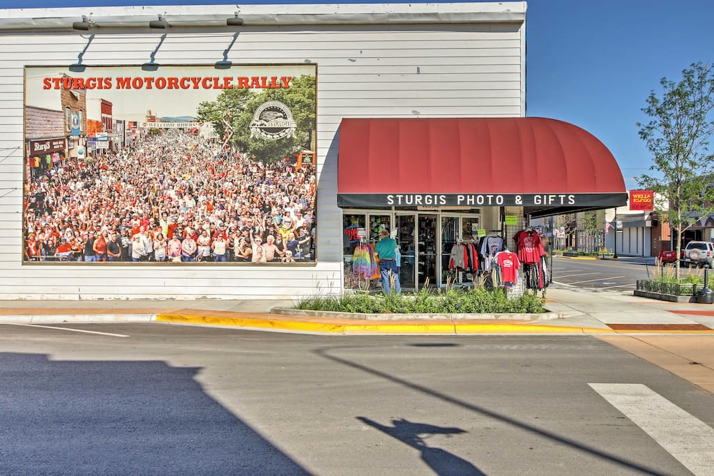 Your next destination for the famous Sturgis Motorcycle Rally awaits!