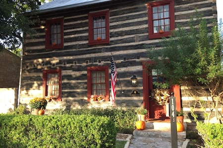 Haussegen Log House - Fredericksburg