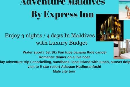 Adventure Maldives  By Express Inn - Malé