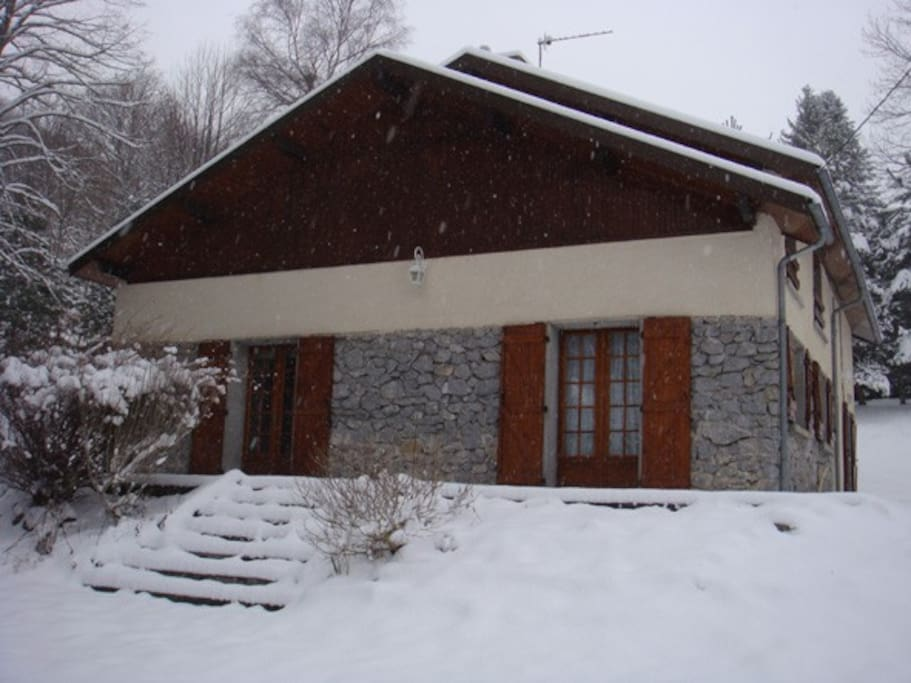 External view in winter