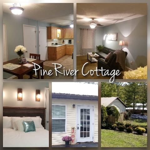 PineRiver Cottage. Country, 6 mins to Downtown.