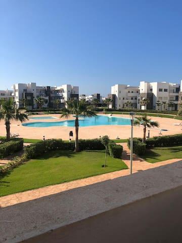Appartement saidia Résidence anwar piscine 40m²