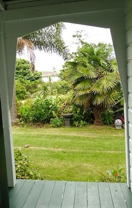 View from front door of the Villa