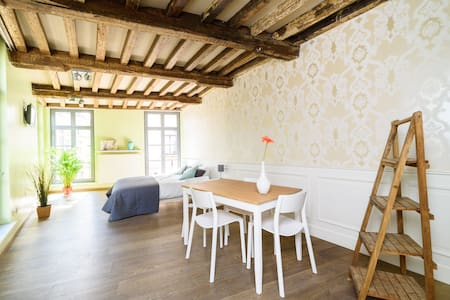 Bright apartment in historic townhouse - Gent