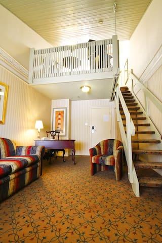 Mezzanine room with continental breakfast - Ville de Québec - Bed & Breakfast