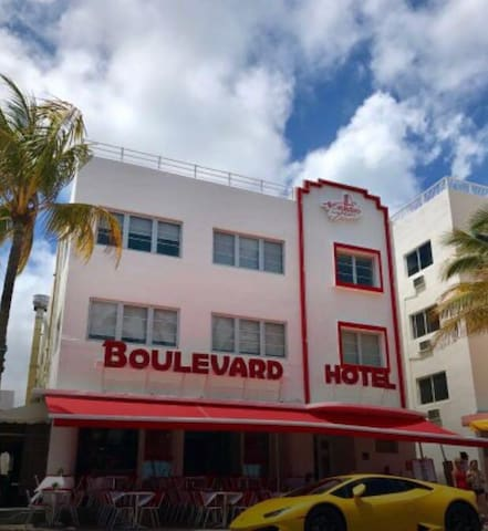 1 Bed in the famous Ocean drive  1 Month minimum