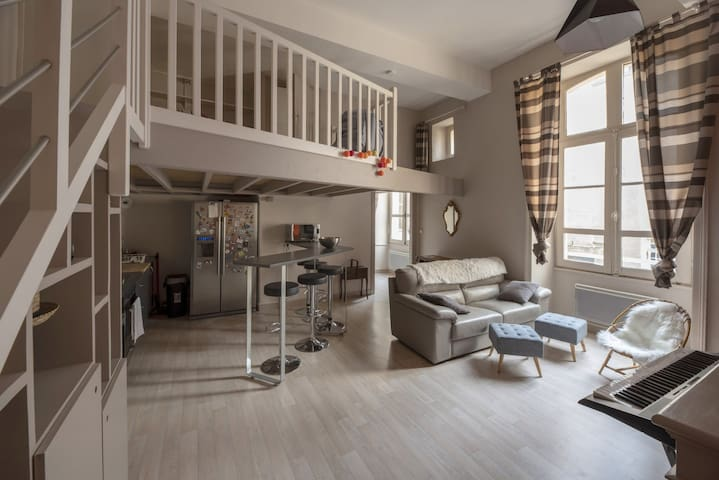 COZY APARTMENT IN THE CENTER OF RENNES (2 people)