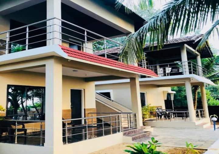 Sea View AC Room @ Dev Samudra Beach