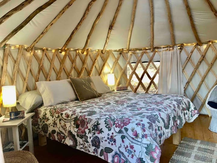 The Puffin, Rusticator Yurt