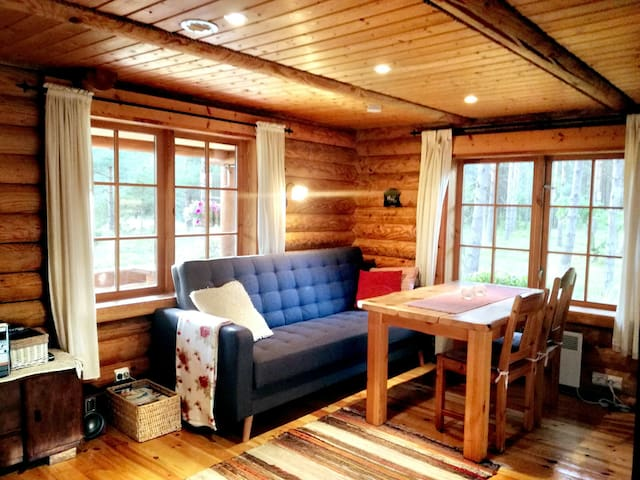 Cozy holiday home  in the middle of pinewoods