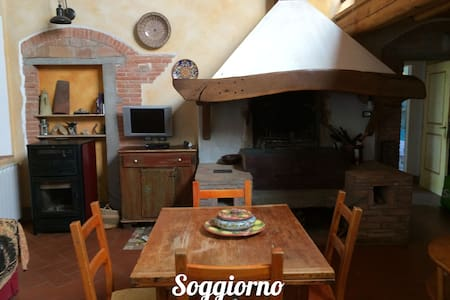 Casa Serena in Collina vicino Certaldo Alto - Certaldo - Departamento
