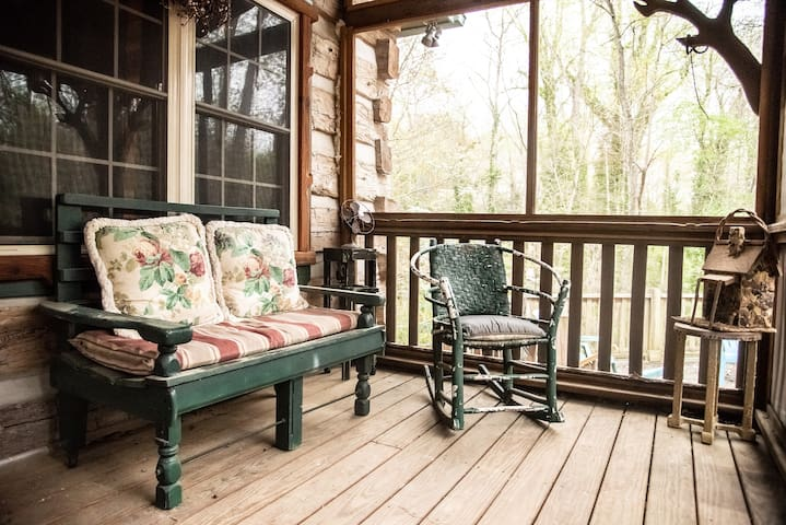 Front Screened Porch