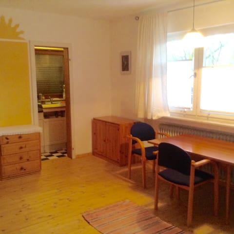 Gemütliches Studio-Apartment mit Bad und Küche - Marburg