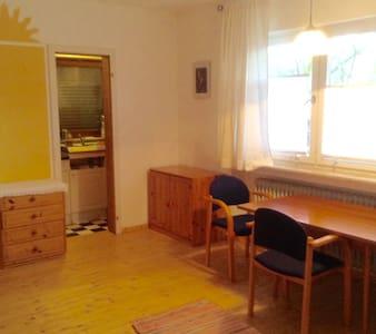 Gemütliches Studio-Apartment mit Bad und Küche - Marburg - Lejlighed