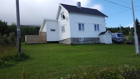 Útulná  chata starej mamy v Kraknes, Kvaløya