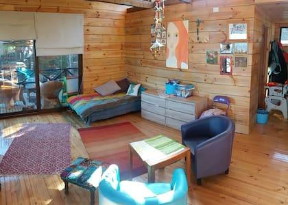 Loft para dos personas en Casa del Cerro. - Pichilemu - Casa