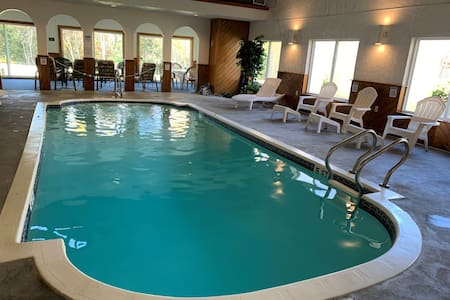 INDOOR POOL ~ Cozy Chalet on Golf Course