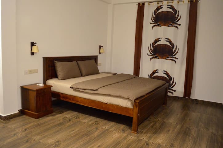Double Room with Kitchen and Veranda - Hambantota