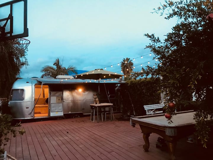Chill out in an Airstream Trailer in Monterey Park