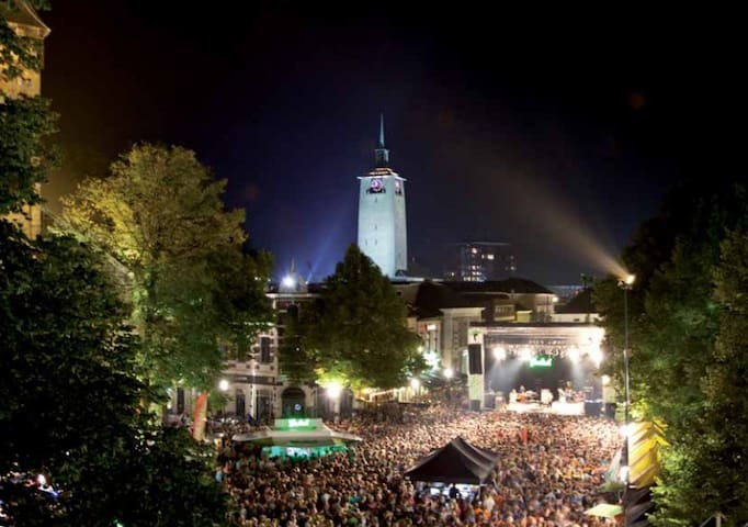 groot aantal muziek evenementen events