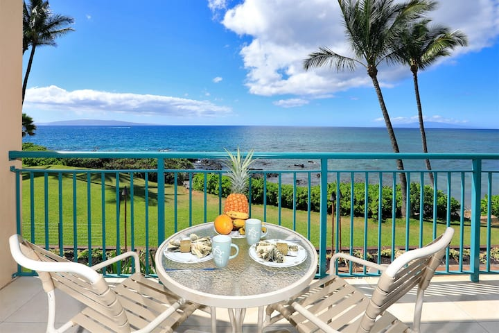 204 Punahoa Studio - Oceanfront with A/C