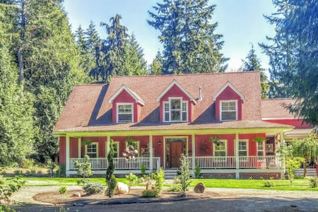 Wooded acres close to Puget Sound - 긱 하버(Gig Harbor) - 아파트