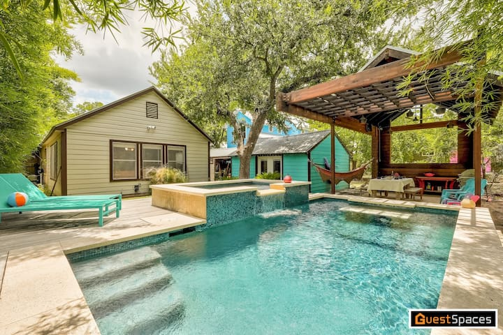 The Darling Dancy - Backyard Oasis with Sparkling Pool!