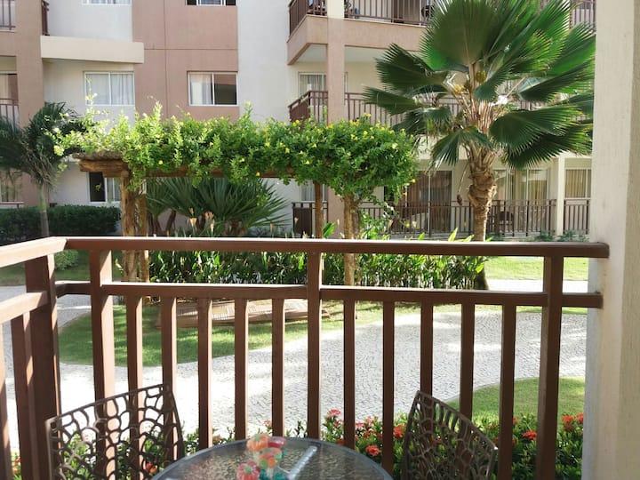 Apartamento top no Wellness Resort
