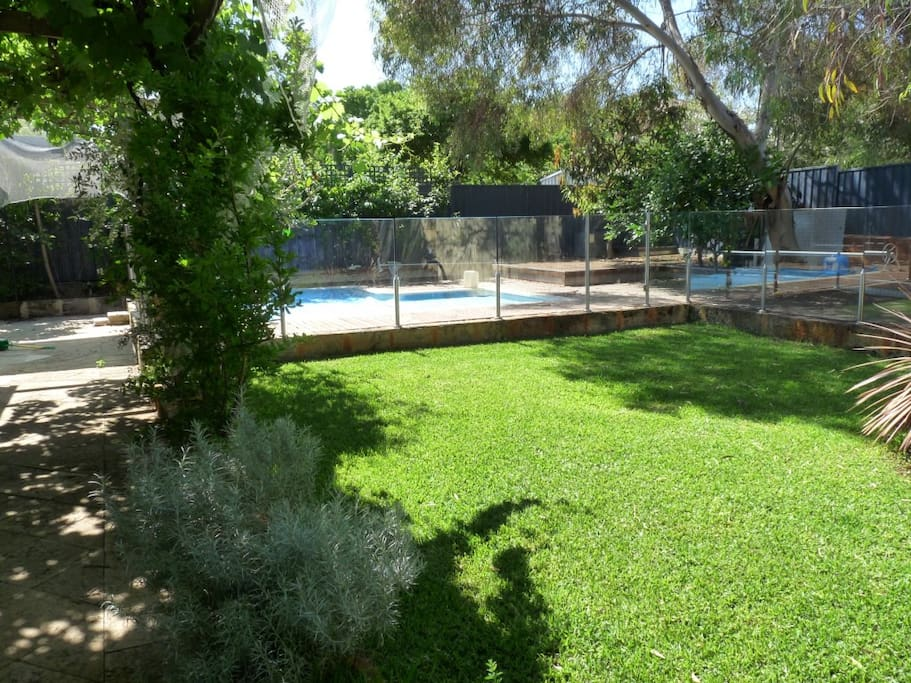 Solar Heated pool in private garden setting