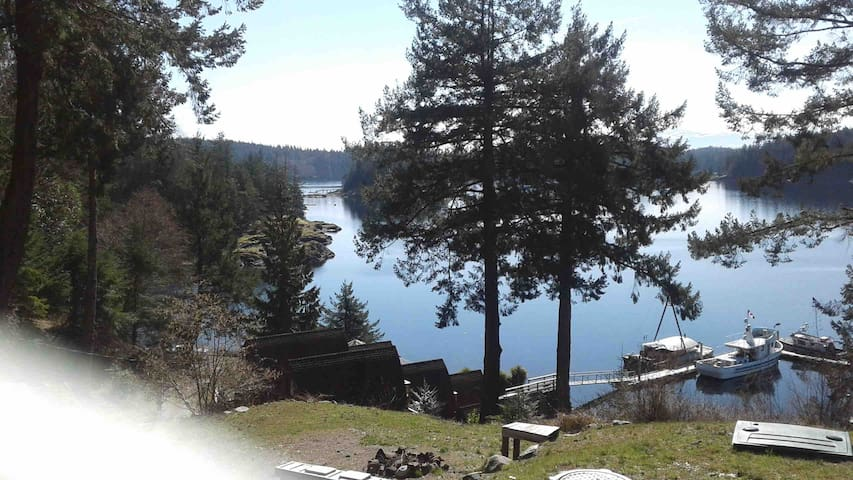 Oceanview New Quadra Island Home