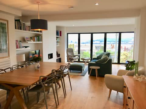 Fabulous estuary views in stylish home